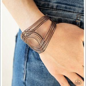 Rustic Coils Bracelet